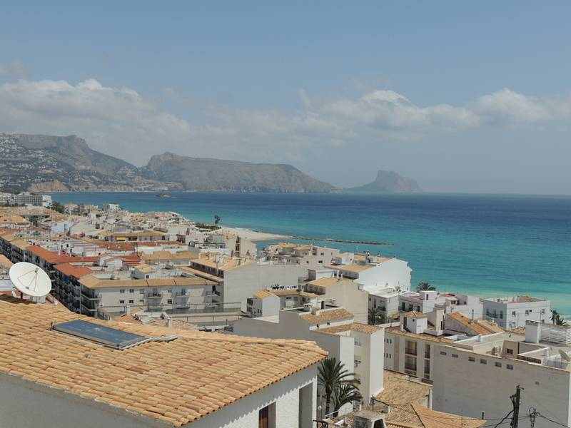 Coast line Altea