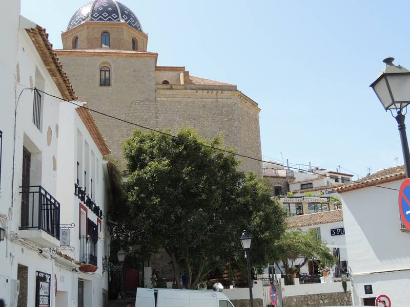 Church Altea old town