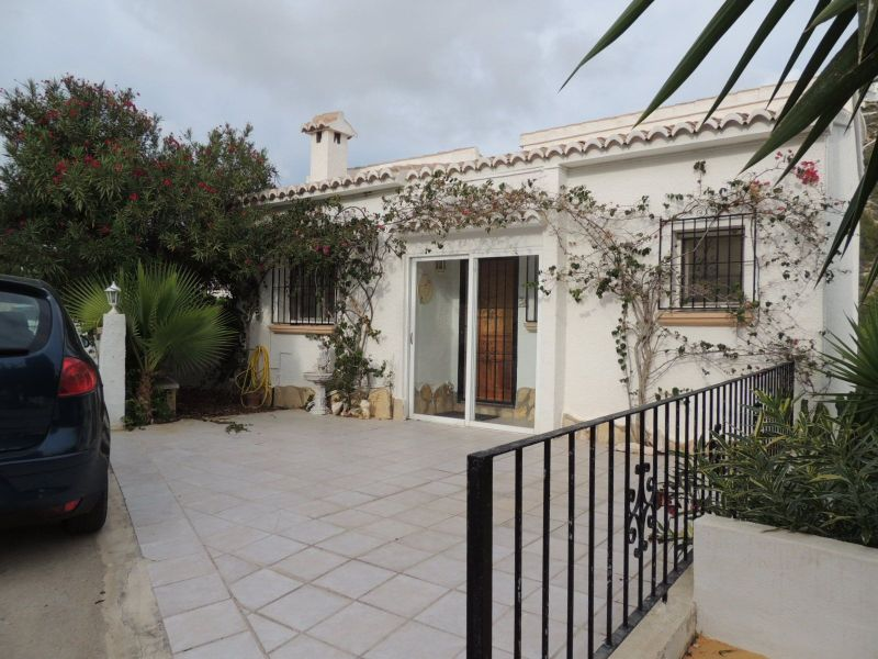 Front of Villa for sale in Benitachell